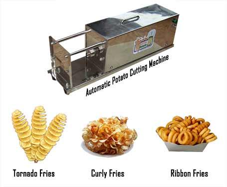 Potato Slicer India This Tornado Fries Machine Is A