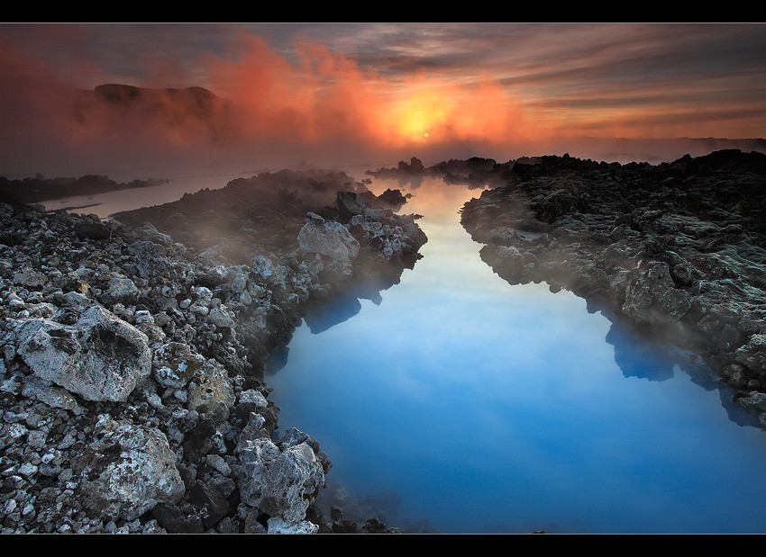 geothermal blue blue lagoon iceland this is the famous flickr