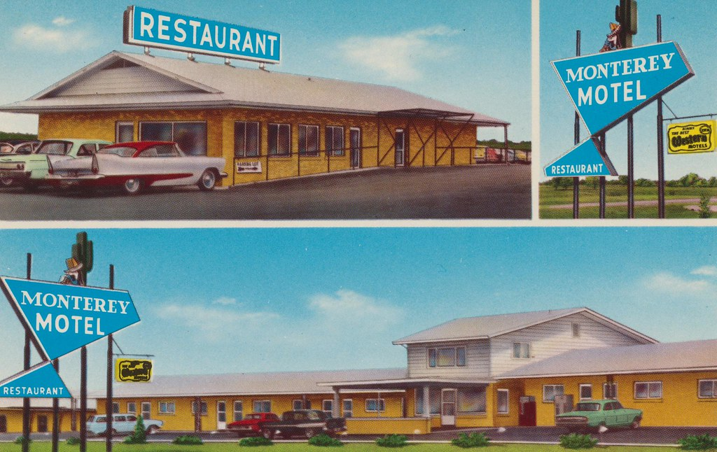 Monterey Motel - Mexico, Missouri