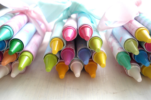 Crayon Party Favors | by such pretty things