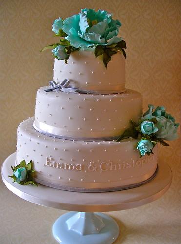 Blue Wedding Cake Pics
