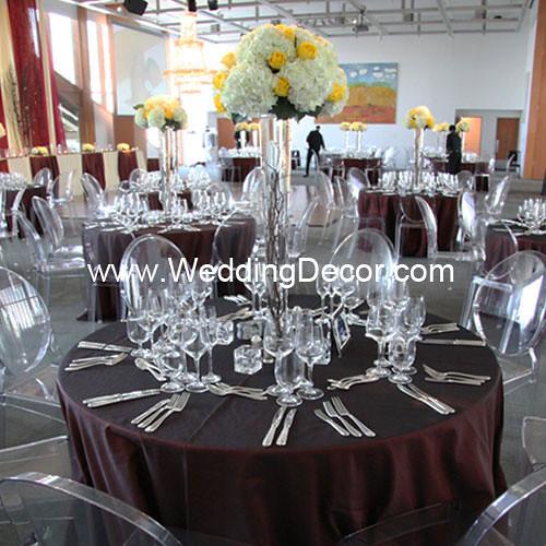 White Hydrangea Yellow Rose Wedding Centerpieces Flickr