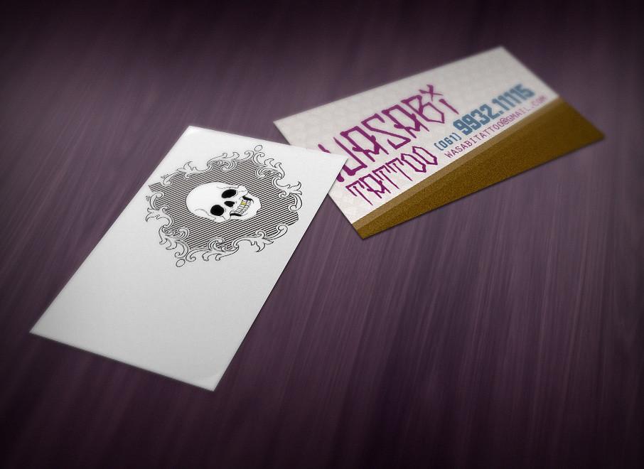 Wasabi Tattoo - Business Card | Wellington Oliveira da Mota | Flickr