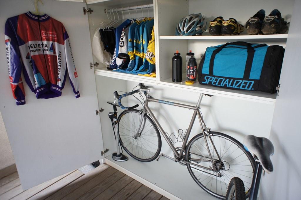 Delicieux Bike Closet | By Runbikesurf Bike Closet | By Runbikesurf