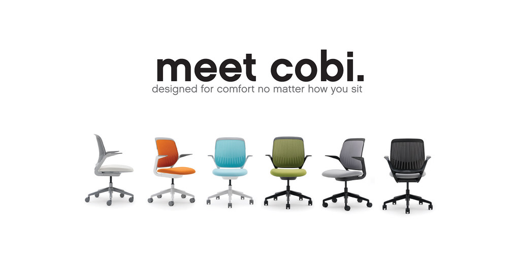 steelcase r cobi chair campaign ad as a design intern at flickr