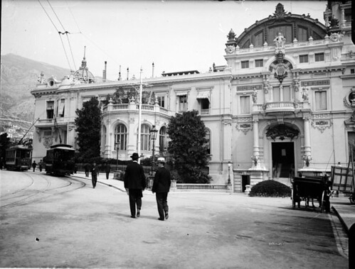 Station des tramways au casino, Monte-Carlo, avril 1905 | by bibliothequedetoulouse