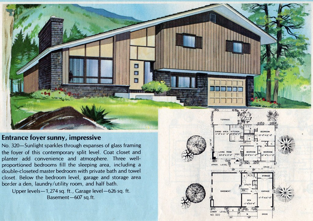 split level house plans 1960s escortsea