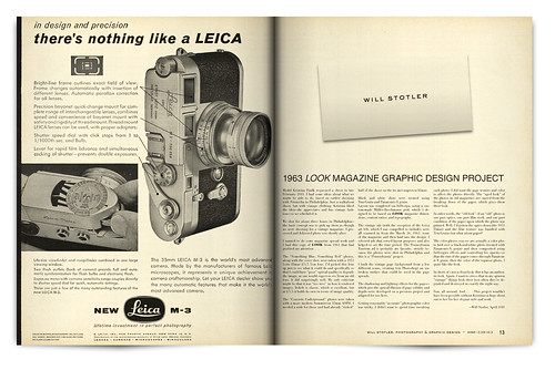 Design Project: LOOK Magazine Spread - pgs. 12 & 13 | by willstotler