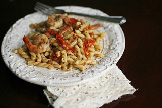 Tomato, Basil and Shrimp Pasta with Manchego Cheese | by Sarah :: Sarah's Cucina Bella