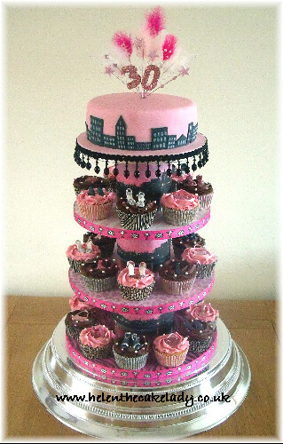 Sex and the city cupcake blog
