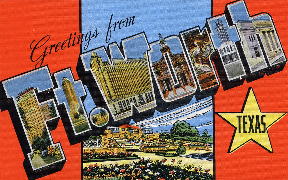 Greetings from ft worth texas large letter postcard flickr greetings from ft worth texas large letter postcard by shook photos m4hsunfo