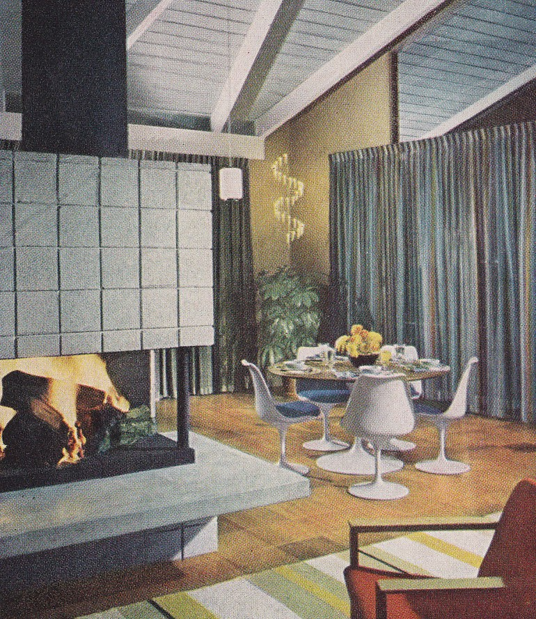 eichler living room 1959 by hmdavid - 1959 Home Design