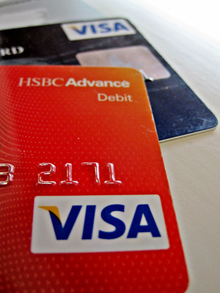 Visa Credit Card | Two visa credit cards. Like much of our w… | Flickr
