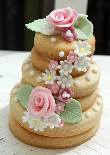 Country garden cookie stack | by Icing Bliss