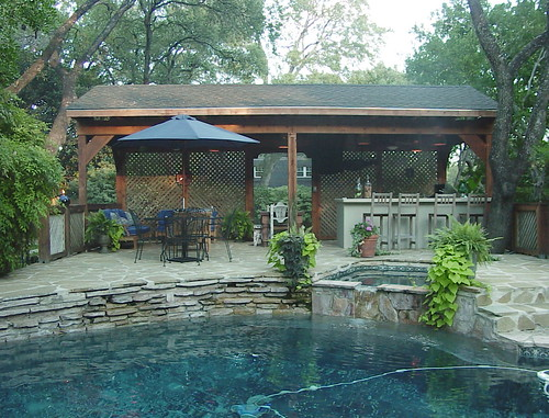 Outdoor kitchen design by hill horticulture san antonio for Outdoor kitchen designs san antonio