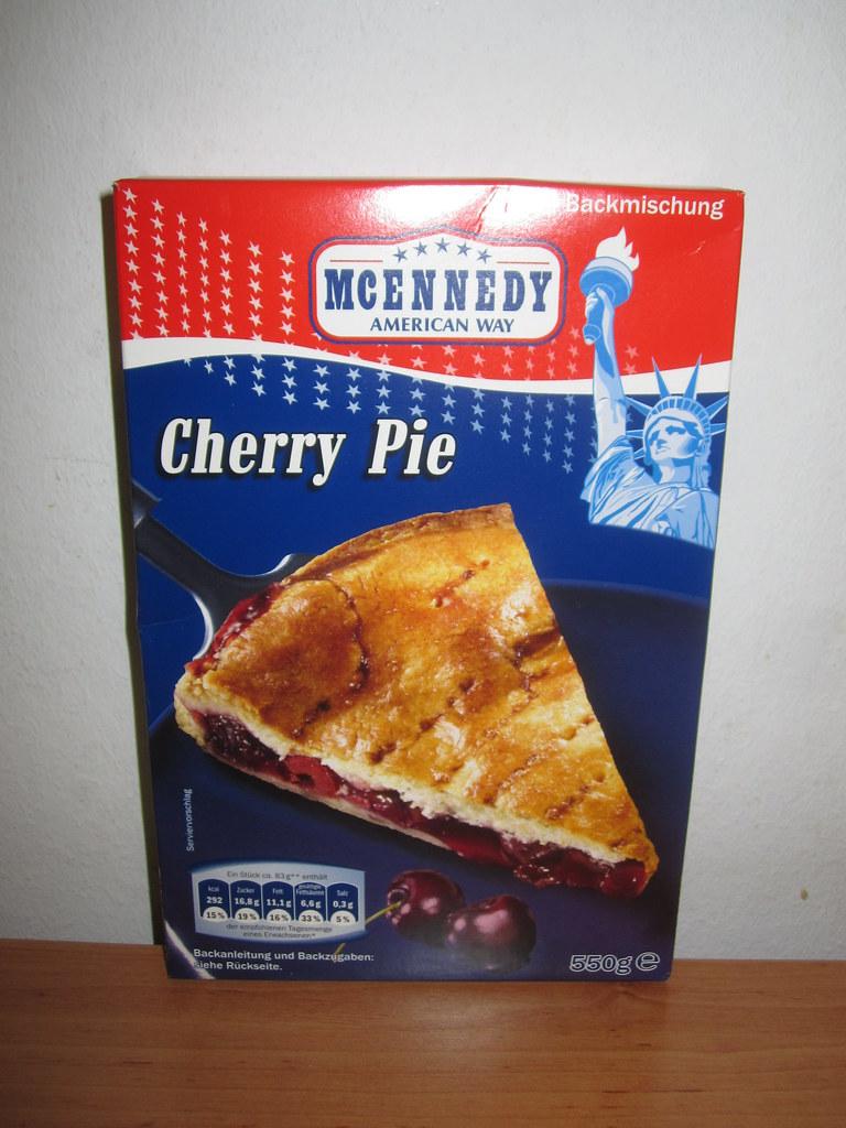 Mcennedy Cherry Pie German Pie Mix Like The Grand Canyon Flickr