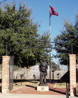 Heritage of Hate: Confederate Memorial Plaza, Anderson, Texas 0108111521 | by Patrick Feller