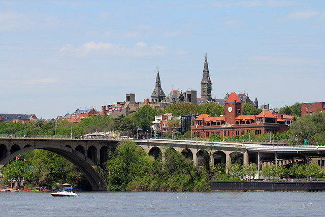 Georgetown from TR Island