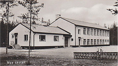 Old postcard 50s Ydrefors Sweden | by Ankar60