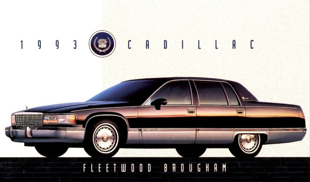 1993 Cadillac Fleetwood Brougham | Alden Jewell | Flickr