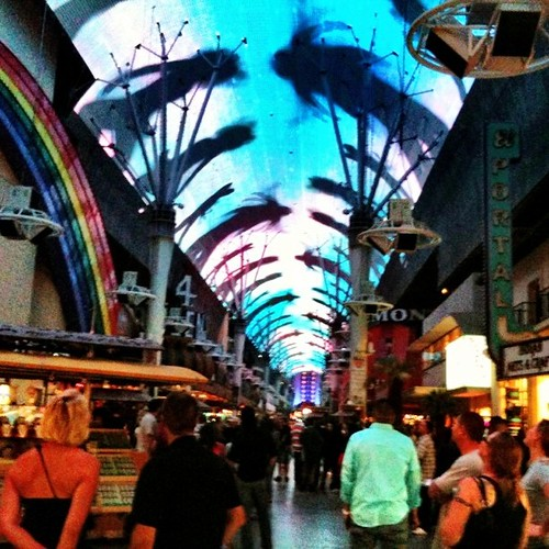 Fremont Street Experience taken Oct 2009 with an iPhone 3GS | by Louis Trapani