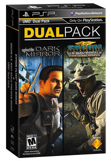 PSP DualPack: Syphon Filter: Dark Mirror and SOCOM: Fireteam Bravo | by PlayStation.Blog