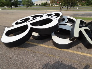 Belk sign jumble (Valley Mall) | by Joe Architect