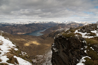 Ladhar Bheinn down to Loch Hourn | by Matt Wilde
