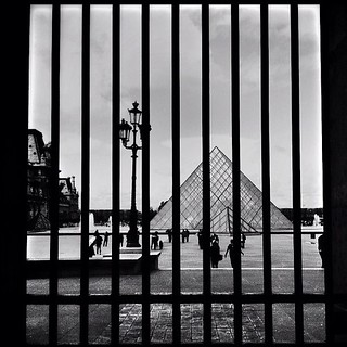 Emprisoned Louvre Pyramid | by https://www.instagram.com/o_khun/