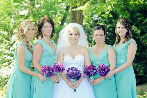 bridal-party-wedding-hair | by vanmobilehair