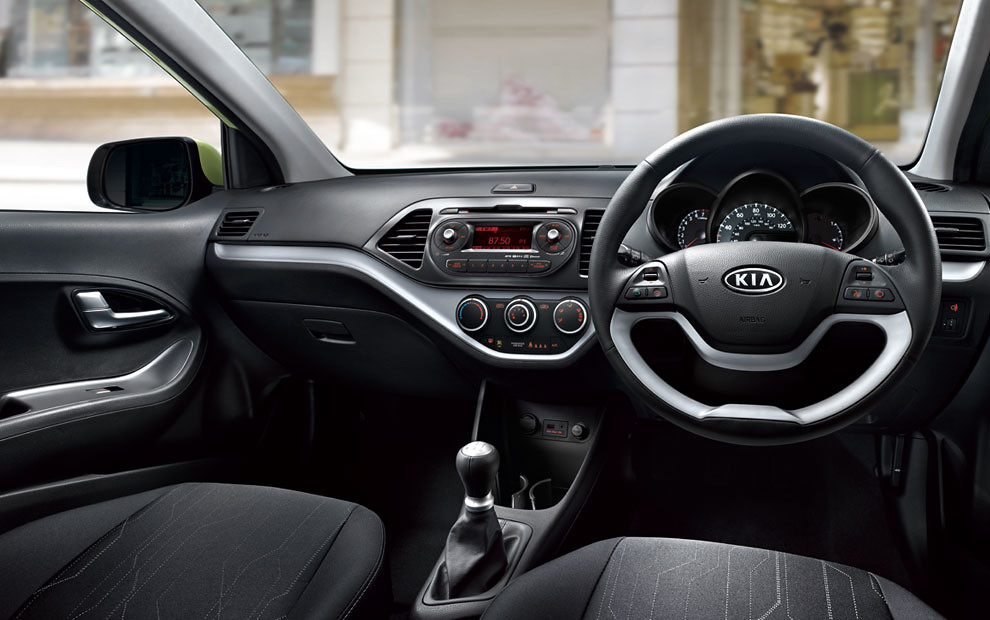 Kia Picanto Interior | Inside the Picanto you will find a vi… | Flickr