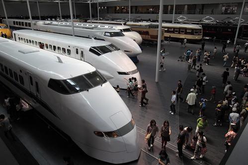 [リニア・鉄道館] 2Fから。新幹線など