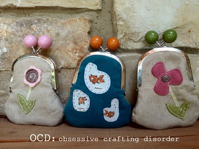 Change purses from OCD | by MyCraftyCrap