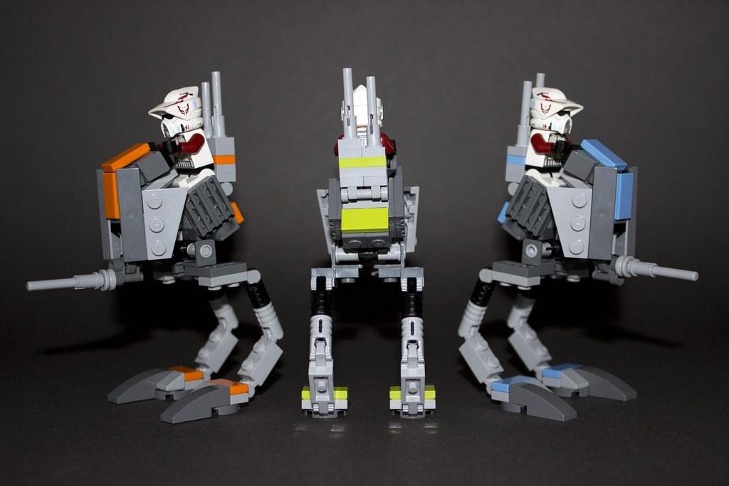 Custom LEGO Star Wars AT-RT - YouTube