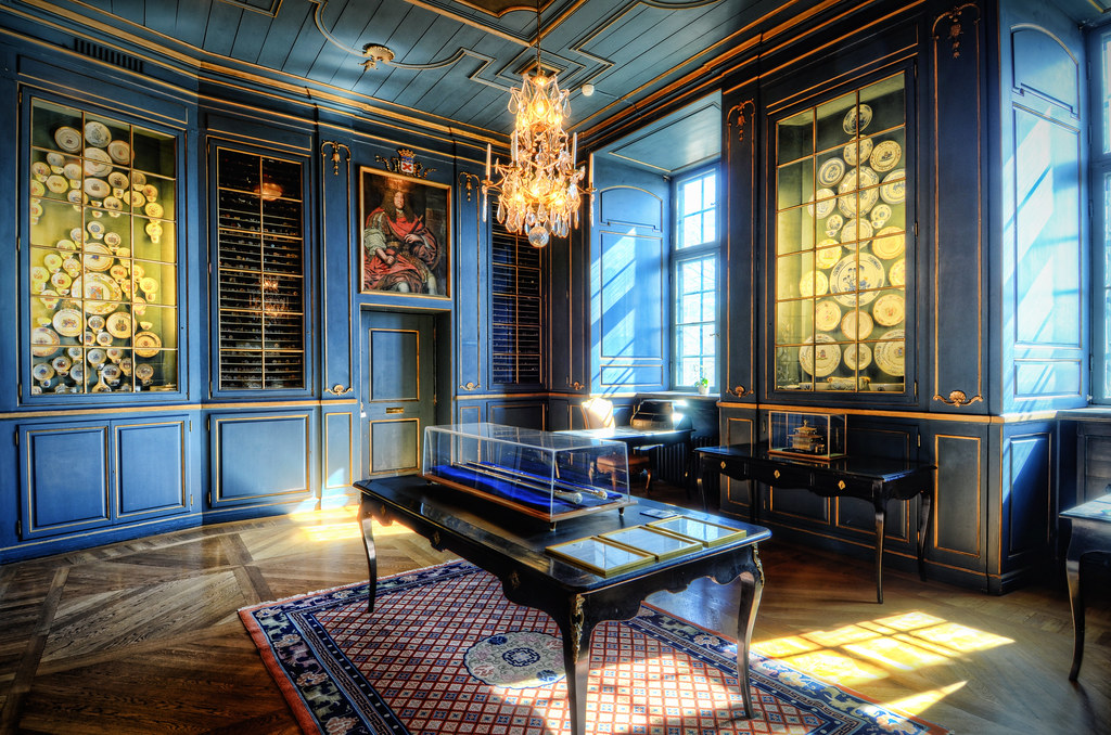 The Blue Room | I visited the House of Nobility the year, si… | Flickr