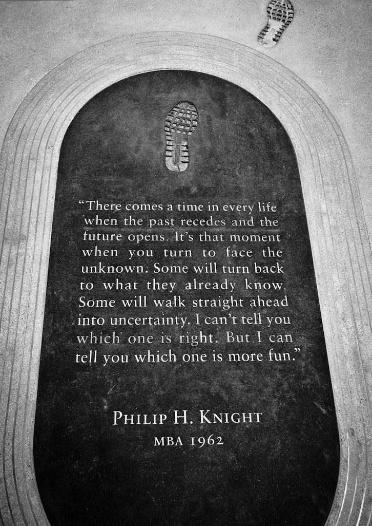 Dedication From Philip H Knight Stanford Graduate Schoo Flickr