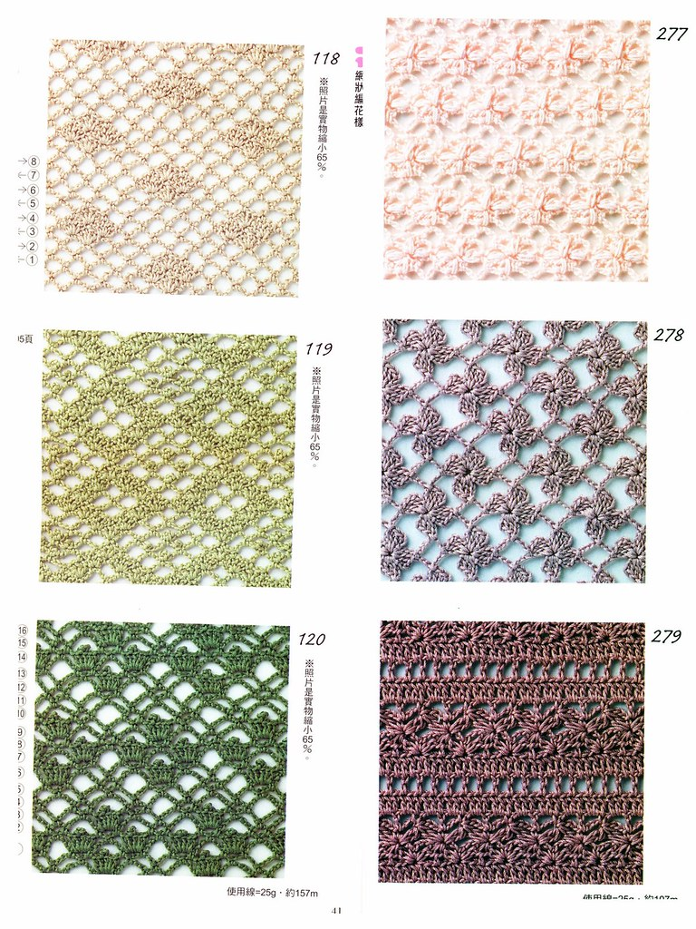 Crochet Patterns Book 300 Stitch Guide Dictionary Flickr