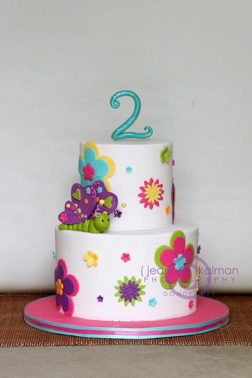 Happy 2nd Birthday Brynn I Did This Little Girls First Flickr