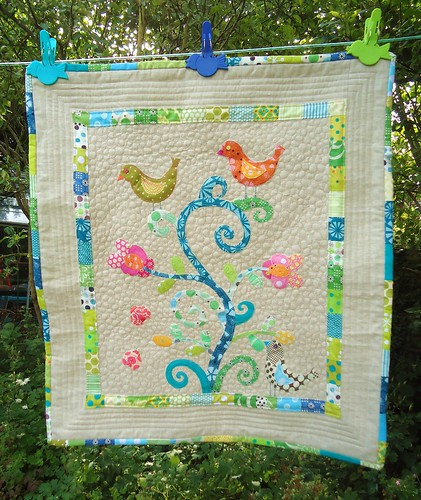 Finished brit quilt - The Bird Feeder | by patchwork queen