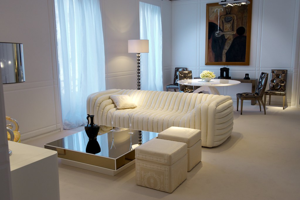 VERSACE HOME Bubble Sofa | Available at Palazzo Collezioni B… | Flickr
