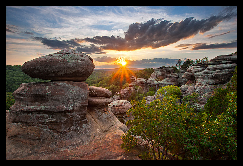 Charming ... Garden Of The Gods Illinois | By Taylor Reed   ShawneeExplorer.com
