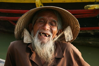 Smiling Vietnamese man Hoi an, Vietnam | by travelbug365