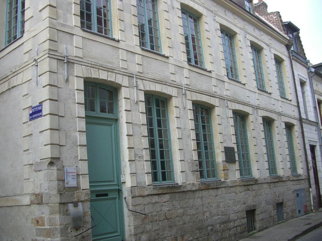 Demeure de Robespierre de 1787 à 1789 , Rue Robespierre, Arras (62)