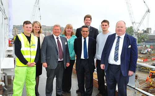Visit to Nine Elms development in Wandsworth | by Department for Communities and Local Government