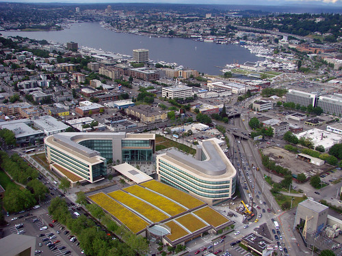 Gates Foundation and Lake Union | by edgeplot