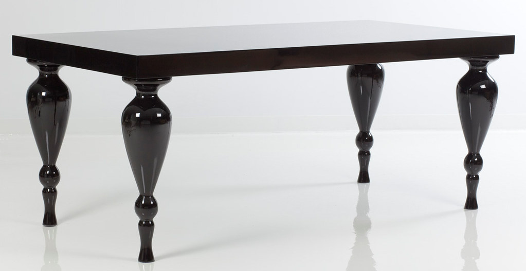4183 BLACK LACQUER DINING TABLE | Add some style to your hou… | Flickr