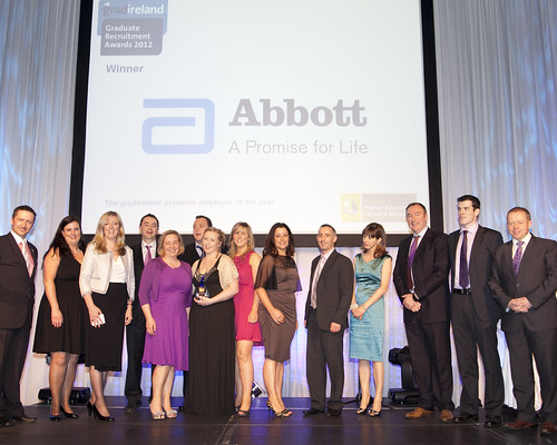Abbott, winner of the 2012 gradireland Graduate Employer of the Year award | by gradireland/GTI Media