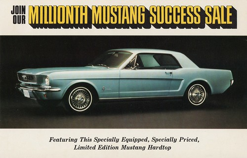 1966 Ford Millionth Mustang Limited Edition | by aldenjewell