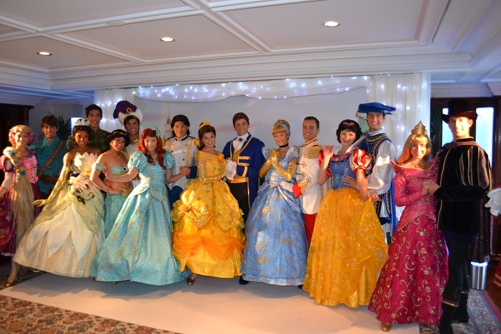 all the disney princesses and princes join us at the princ flickr
