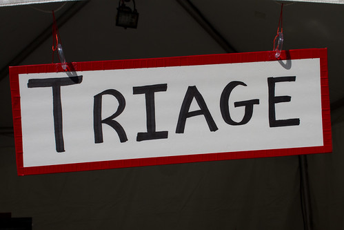 Triage, First Aid Tent | by brian.gratwicke